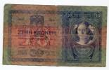 """Serbie Serbia Ovp Austria Hungary Ovp 10 Kronen 1904 RARE """" LJUBLJANA """" - Slovénie"""