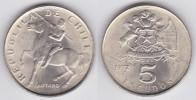 Chile 5 Escudos 1.972 Cu Ni KM#199 SC/UNC         T-DL-10.304 - Chili
