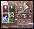 GHANA # 2361 MNH : MINI SHEET CHARLIE CHAPLIN - Ghana (1957-...)