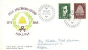 FDC NORUEGA 1964 - Honingbijen