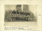 06 NICE PHOTOGRAPHIE 1925 BATAILLON REGIMENT CHASSEURS ALPINS OFFICIERS DEDICACE MILITAIRE MILITARIA ALPES MARITIMES - Militaria