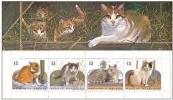 Belgium**CATS-BOOKLET 4stamps-1993-MNH-CHATS-KATTEN-KATZEN-GATTO - Belgium