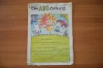 Germany Die ABC Zeitung  Magazine For Children 1983 - Children's