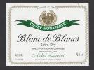 Etiquette De Vin Touraine Blanc De Blancs- Cuvée Bonaparte  - Thème Napoléon -  M. Laurent à St Hilaire St Florent (49) - Emperors, Kings, Queens And Princes