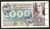 [CC] SVIZZERA / SUISSE / SWITZERLAND - NATIONAL BANK - 1000 FRANCS / FRANKEN (1958) TOTENTANZ - Suiza