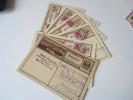 Österreich 1927 Ganzsachen P278 Bildpostkarten 6 Stück Verschiedene Motive Und Typen!! Z.Z. Mit Zusatzfrankatur - Entiers Postaux