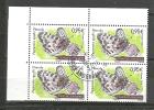 EUROPA-ANDORRA CORREO FRANCES BLOQUE DE 4 SELLOS 2015 MATASELLADOS (C.H.C.10.15) - Used Stamps