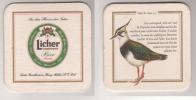 Licher Vögel Der Auen Bier , Nr 5 Kiebitz - Sous-bocks