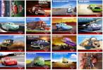 16 Postcards Of Cars Film Moive Disney Cartoon Car Truck, Postkarte Carte Postale - Postkaarten