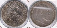 ALEMANIA  DEUTSCHES REICH 2 MARK WURTTEMBERG 1901 PLATA SILVER S - [ 2] 1871-1918 : Empire Allemand