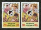 Bangladesh 1976 25th Anniversary Of Colombo Plan Sc 115-16 MNH # 0923 - Bangladesh