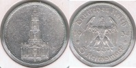 ALEMANIA  DEUTSCHES REICH 5 MARK A 1934 PLATA SILVER S - [ 4] 1933-1945 : Tercer Reich