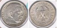 ALEMANIA  DEUTSCHES REICH 5 MARK A 1935 PLATA SILVER S - [ 4] 1933-1945 : Tercer Reich