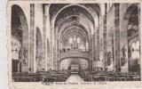 Cpa Faulx-les-Tombes. Intérieur De L'église. Photo Dessart - Gesves