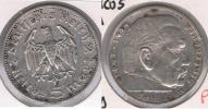 ALEMANIA  DEUTSCHES REICH 5 MARK E 1935 PLATA SILVER S - [ 4] 1933-1945 : Tercer Reich