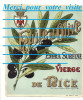 étiquettes : GRANDE étiquette De Bouteille De HUILE D´OLIVE VIERGE DE NICE 06 Blason EXTRA Illustration Olivier - Fruits & Vegetables