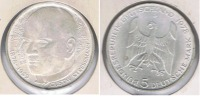 ALEMANIA 5  DEUTSCHE  MARK D 1978 PLATA SILVER S - [ 7] 1949-… : RFA - Rep. Fed. Alemana