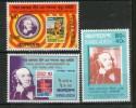 Bangladesh 1979 Sir Rowland Hill Stamp On Stamp Sc 157-59 MNH # 1206 - Bangladesh