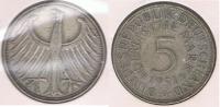 ALEMANIA 5  DEUTSCHE  MARK G 1951 PLATA SILVER S - [ 7] 1949-… : RFA - Rep. Fed. Alemana