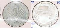 ALEMANIA 5  DEUTSCHE  MARK J 1975 PLATA SILVER S - [ 7] 1949-… : RFA - Rep. Fed. Alemana