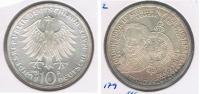 ALEMANIA 10  DEUTSCHE  MARK D 1992 PLATA SILVER S - [ 7] 1949-… : RFA - Rep. Fed. Alemana