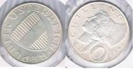 AUSTRIA  10 SCHILLING 1965 PLATA SILVER S - Austria