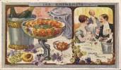 CHROMO AU PLANTEUR DE CAIFFA SALADE DE FRUITS LES ENTREMETS - Trade Cards