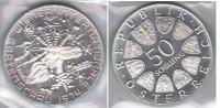 AUSTRIA  50 SCHILLING 1974 PLATA SILVER S - Austria