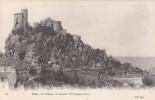 Cp , 43 , LE PUY , Environs , Ruines Du Château De Charles VII - Le Puy En Velay