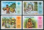 1979 Samoa Sisifo Infanzia Childhood Enfance Set MNH** Y64 - Samoa