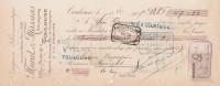Lettre Change 13/10/1905 MURAT MASSIAS Droguerie Pharmaceutique TOULOUSE Haute Garonne Pour Limoges - Lettres De Change