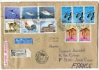 ALGERIE LETTRE RECOMMANDEE PAR AVION DEPART ANNABA-PORT 25-5-1996 POUR LA FRANCE - Algérie (1962-...)