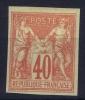 Colonies Générales: Yv Nr 27 ,   MH/*, Avec  Charnière , Mit Falz - Sage