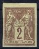 Colonies Générales: Yv Nr 38 ,   MH/*, Avec  Charnière , Mit Falz - Sage