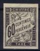 Colonies Générales:  TAXE Yv Nr 11 MH/*, Avec  Charnière , Mit Falz - Postage Due