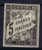 Colonies Générales:  TAXE Yv Nr 14 MH/*, Avec  Charnière , Mit Falz - Postage Due