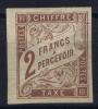 Colonies Générales:  TAXE Yv Nr 16 MH/*, Avec  Charnière , Mit Falz, - Postage Due