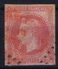 Colonies Générales:   Yv Nr 10 Obl. / Used  Cachet En Noir Et Rouge - Napoleon III