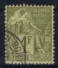 Colonies Générales:   Yv Nr 59 Obl. / Used - Alphee Dubois