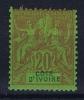 Cote D'Ivoire  Yv Nr 7 MH/*, Avec  Charnière , Mit Falz - Ivoorkust (1892-1944)