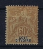 Cote D'Ivoire  Yv Nr 9 MH/*, Avec  Charnière , Mit Falz - Ivoorkust (1892-1944)