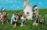 Duel Dance Oto-Ponc Indian Dancers Oklahoma