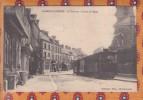 1 Cpa 14 - Caumont L´Eventé - Le Tramway - L´Arrêt De L´Eglise - France
