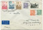 FINLANDE LETTRE PAR AVION DEPART HELSINKI 17-12-54 POUR LA FRANCE - Briefe U. Dokumente