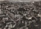 CPSM MONTDIDIER (Somme) - La France Vue Du Ciel.....vue Générale Et L'Eglise - Montdidier