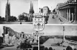 BORDEAUX - GIRONDE - (33) - CPSM MULTIVUES DENTELEE DES ANNEES 19850/1960. - Bordeaux