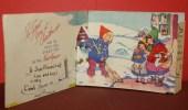 Cpa Ak Pk Systeme Christmas Greetings Postcard Vintage - A Systèmes