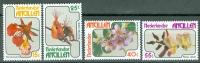 Netherlands Antilles 1978 Flowers, Orchids MNH** - Lot. 3786 - West Indies