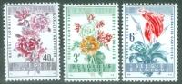 Belgium 1960 Flowers MNH** - Lot. 3808 - Belgique