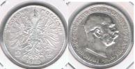 AUSTRIA FRANCISCO JOSE I 2 CORONAS 1913 PLATA SILVER S - Austria